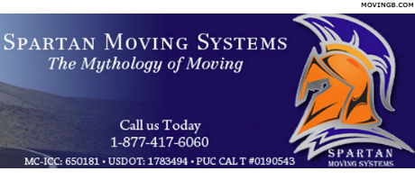 Spartan Moving Systems - San Jose Movers
