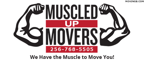 Muscled Up Movers - Alabama Home Movers