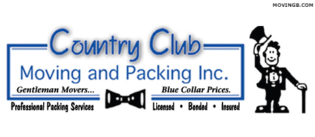 Country club moving services