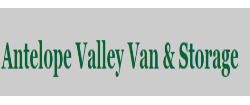 Antelope Valley Van - California movers