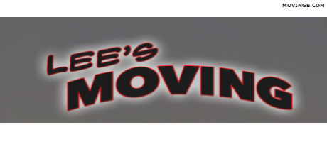 Lees moving - California Movers