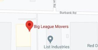Address of Big league movers company Memphis TN