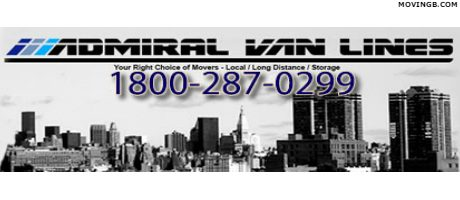 Admiral Van Lines - New Jersey Movers