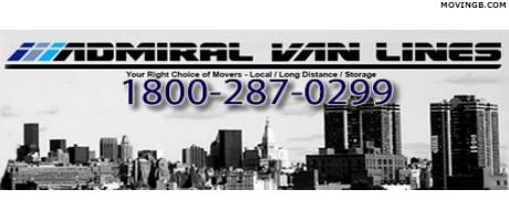 Admiral Van Lines - New Jersey Movers