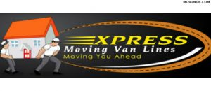 Express Moving Van Lines New Jersey Moving Companies