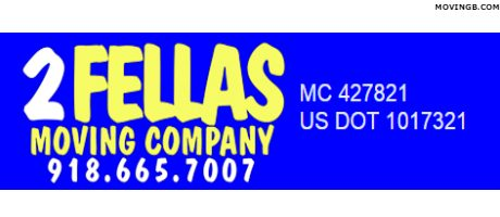 2 Fellas moving company - Tulsa Movers