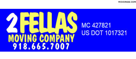 2 Fellas moving company - Tulsa Movers
