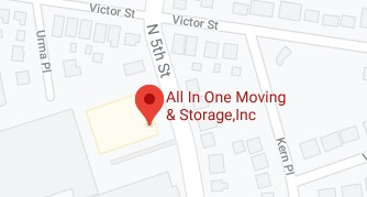 Address of All in one moving company Saddle Brook NJ