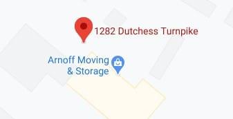 Address of Arnoff moving and storage company Poughkeepsie NY