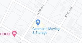 Address of Gearharts moving company Altoona PA