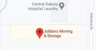 Address of Jobbers moving company Bismarck ND