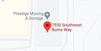 Address of Prestige moving company OR