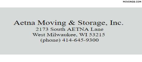 Aetna Moving - Wisconsin Movers