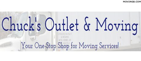 Chucks outlet and Moving - Arkansas Home Movers