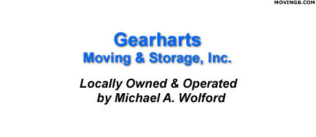 Gearharts moving and storage - Movers in Altoona PA