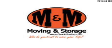 M and M Moving and Storage - Moving Services