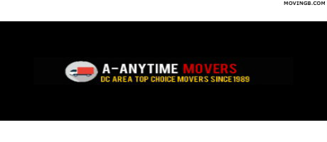 A-Anytime movers - Movers in DC