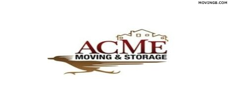 ACME Moving and Storage CA Movers