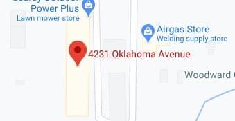 Address of Cook moving company Woodward OK