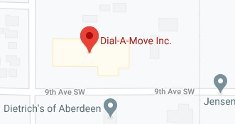 Address of Dial a move moving company Aberdeen SD
