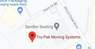 Address of Tru pak moving company Conover NC