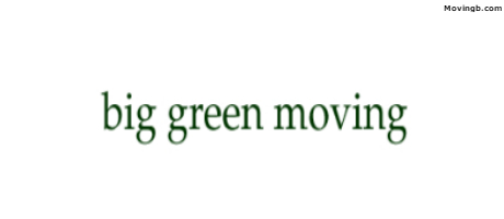 Big Green Moving - Moving Services