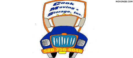 Cook Moving and Storage - Oklahoma Home Movers