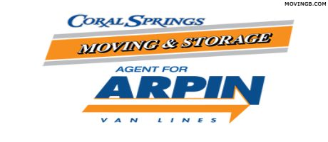 Coral Springs Moving - Florida Home Movers