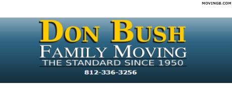 Don Bush Family Moving - Indiana Movers