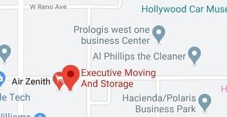 Executive moving and storage address