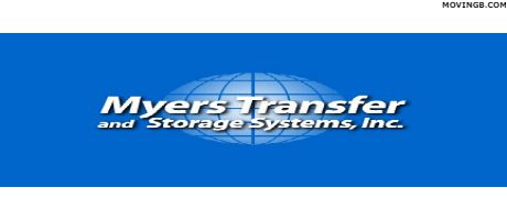 Myers Transfer and Storage - West Virginia Home Movers
