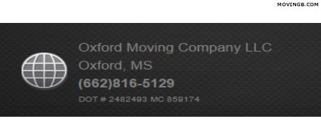 Oxford moving services