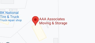 Address of AAA associates moving and storage AL