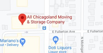 Address of All Chicagoland moving company Elmhurst IL
