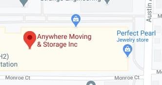 Address of Anywhere moving company Morton Grove IL