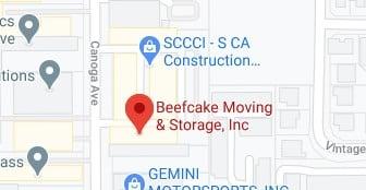 Address of Beefcake moving company Chatsworth CA