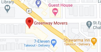 Address of Greenway Movers company Chicago IL