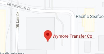 Address of Wymore transfer company Clackamas OR