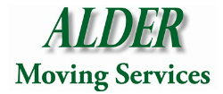 Alder moving services - Household moving company