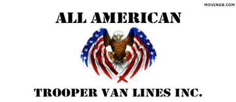All american trooper van lines - California Movers