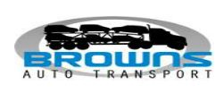 Browns auto transport - Auto carrier