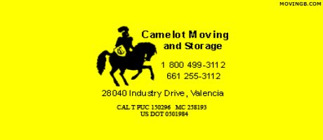 Camelot movers - California Movers
