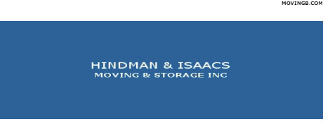 Hindman and Isaccs moving and storage - Movers near Butler PA