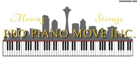 Pro Piano Move - Piano Mover Seattle
