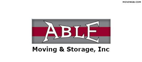 Able moving and Storage - Virginia Movers