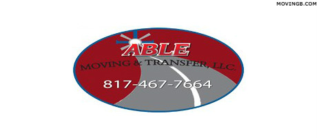 Able moving and storage - Movers In Burleson TX