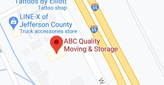 Address of ABC quality moving company Arnold MO