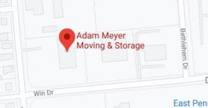 Address of Adam Meyer moving company PA