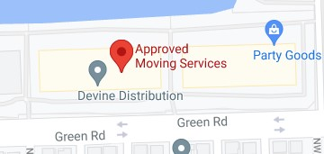 Address of Approved moving services FL