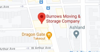 Address of Burrows moving company Chicago IL